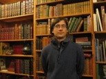Social historian David Beorlegui Zarranz from Euskal Herriko Unibertsitatea (The University of the Basque Country) visits Old Capitol Books ahead of his talk on April 8th.
