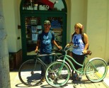 """""""Nearby, at Old Capitol Books (formerly the Book Haven), you'll want to stop in and chat with the owner about books–and bikes! Why? Because owner Matthew Sundt is an avid cyclist and bike advocate, including serving as board president of Velo Club Monterey."""""""
