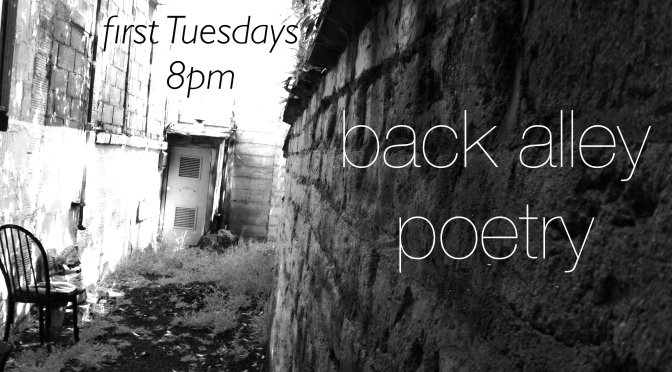 Back Alley Poetry – A monthly poetry night