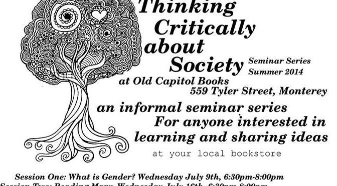 Thinking Critically about Society Summer Series