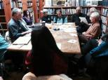 Networking Aloud! a monthly open mic at Old Capitol Books