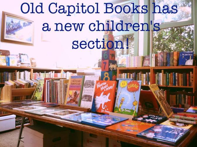 Cute New Children's Book Section!