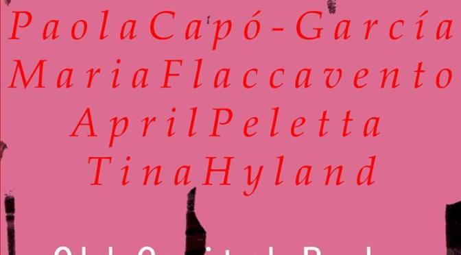 GRRLHORT! Readings from Tina Hyland, Paola Capó-García, April Peletta, & Maria Flaccavento