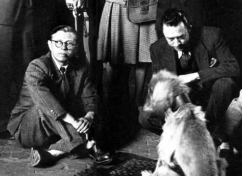 Jean-Paul Sartre and Albert Camus