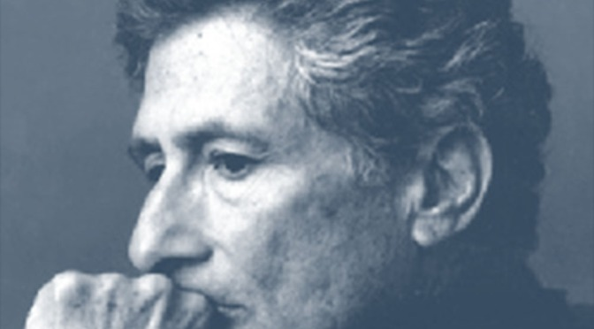 Theory & Philosophy Reading Group VI: Edward Said's Orientalism