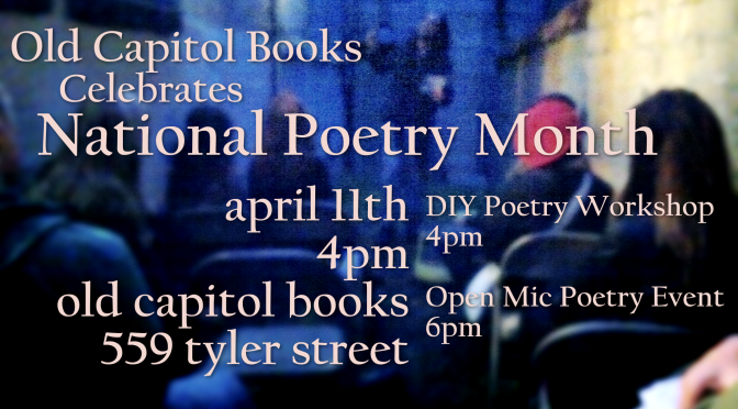 20% off all Used Poetry Books – in Celebration of NaPoMo 2015!
