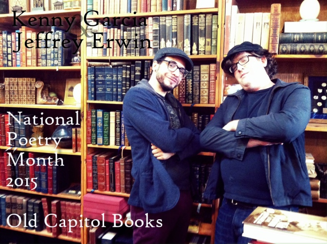 Old Capitol Books Celebrates National Poetry Month 2015