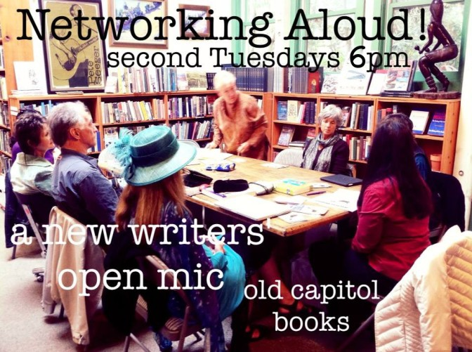 Networking Aloud! an open mic featuring Pat Hanson