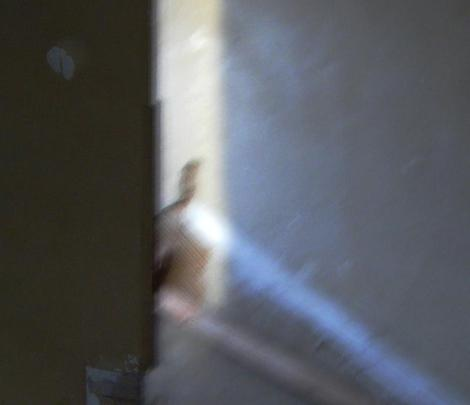Preston Castle ghost photographed by the team Sonoma SPIRIT led by paranormal investigator Jackie Ganiy on April 16, 2010.