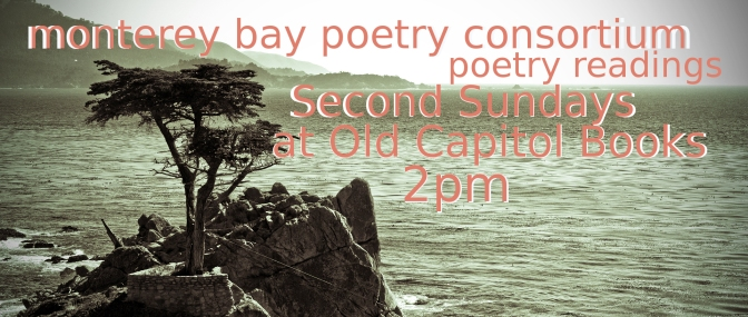 Monterey Bay Poetry Consortium Presents Jennifer Lagier and Dane Cervine