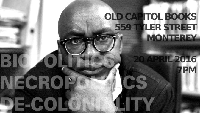 Theory & Philosophy Reading Group XVI: Achille Mbembe