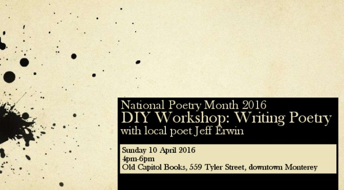 FREE Poetry Workshop for NaPoMo!