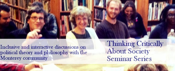 The Isms of March! Thinking Critically about Society Seminar Series Announced!