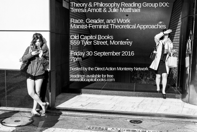 Theory & Philosophy Reading Group XX: Teresa Amott & Julie Matthaei