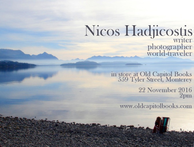 Book signing: Nico Hadjicostis, author of Destination Earth