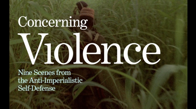 "Theory & Philosophy Reading Group XXII: Frantz Fanon Documentary ""Concerning Violence"""