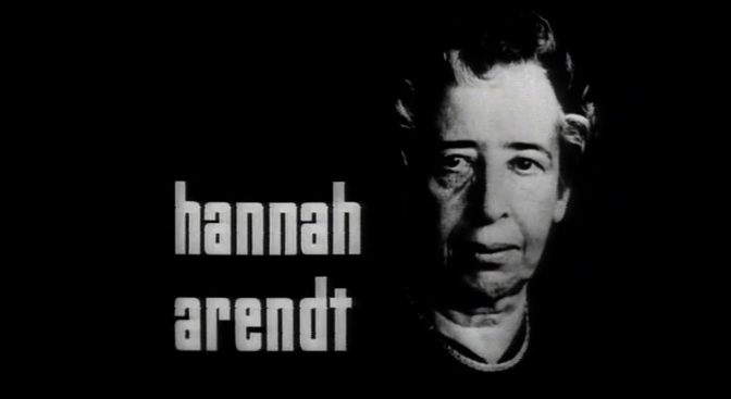 Theory & Philosophy Reading Group XXV: Hannah Arendt