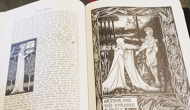 Featured Book #4: Le Morte D'Arthur (Dorset Press)