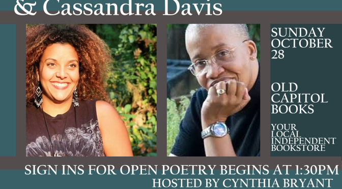 New Open Mic! Fishbowl Poetry featuring Joanna Burrows and Cassandra Davies