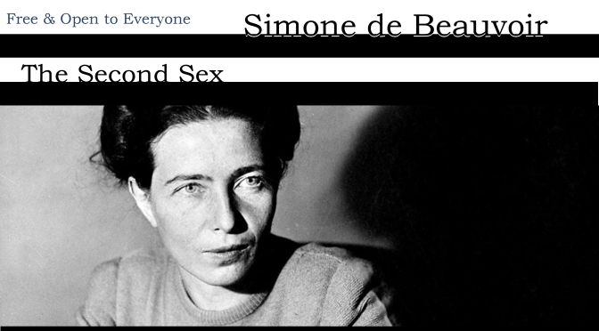 Theory & Philosophy Reading Group 41: Simone de Beauvoir