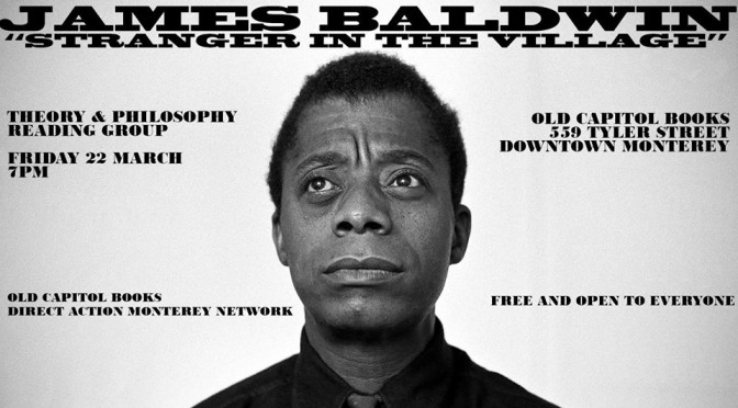 Theory & Philosophy Reading Group: James Baldwin
