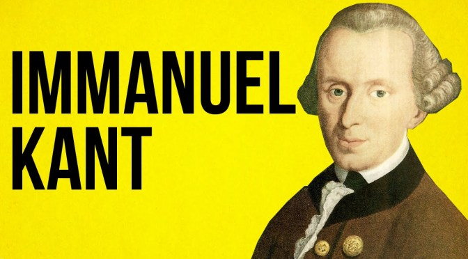 Theory & Philosophy Reading Group: Kant (four part series)