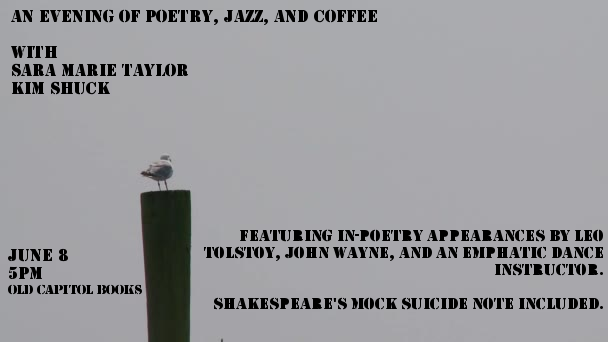 An evening of Poetry, Jazz, and Coffee