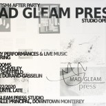 Mad Gleam Press after party