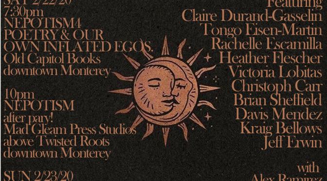 Monterey Poetry Fest 2020