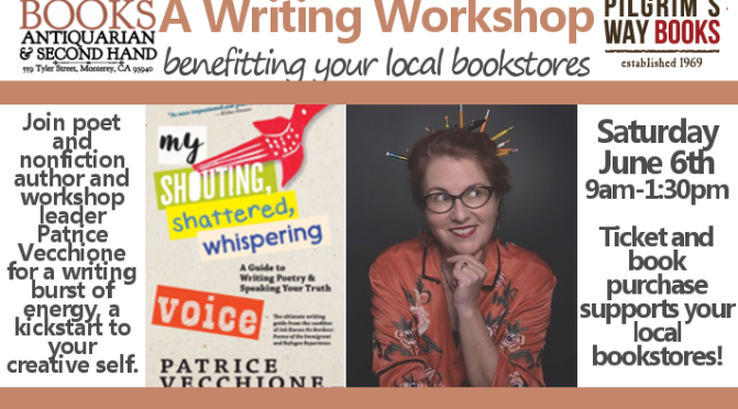 My Shouting, Shattered, Whispering Voice: a writing workshop