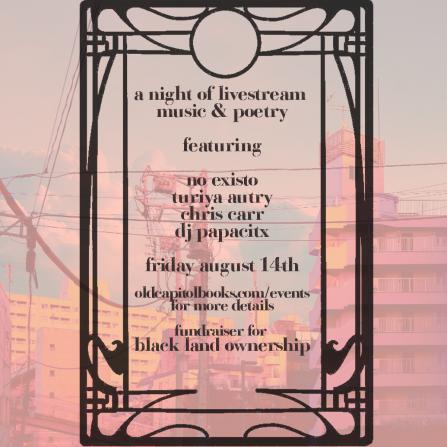 blacklandownership fundraiser aug 14