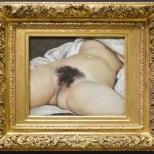 'L'Origine du monde', Gustave Courbet 1866