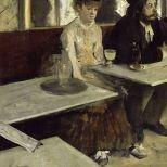'The Absinthe Drinker', Edgar Degas 1875